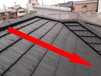 屋根塗装向き