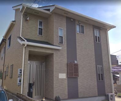 あま市でスレート屋根(パミール・太陽光付き)の点検にお伺いしました