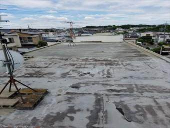 連棟屋根の全景