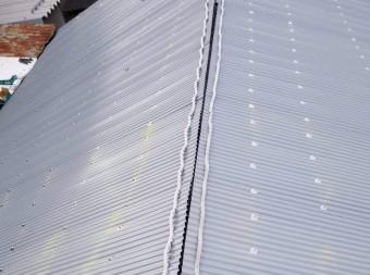 棟の面戸施工