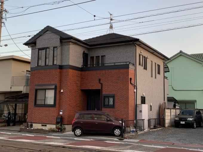 豊橋市にて棟板金が飛んだ屋根のお客様からの依頼で点検しました