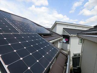 ソーラー付き屋根