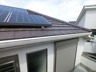 ソーラーパネル屋根