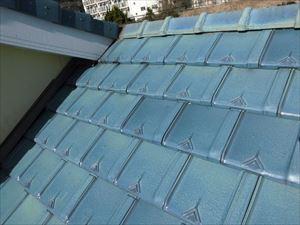 雪が降った後の屋根