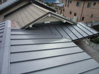 トタン屋根点検