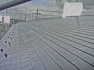 賃貸マンション屋根塗装
