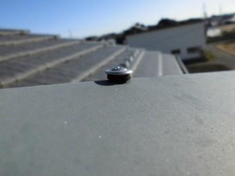 瓦屋根ビス浮き