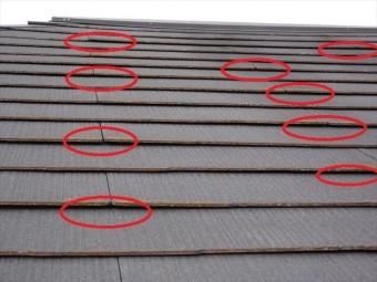 屋根の浮き2