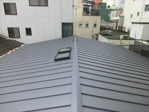 トタン屋根の葺き替え