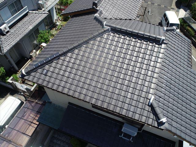 完成後の上空写真