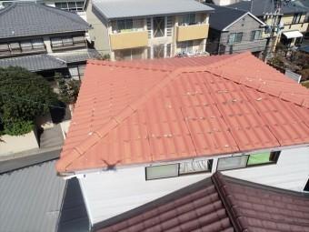 ドローンでの屋根点検