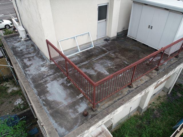 下屋根(北側)