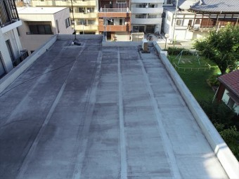 3階の屋根の全景