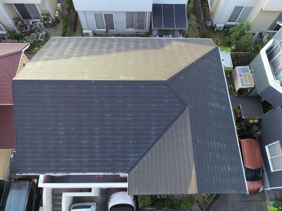 名古屋市緑区 スレート屋根の点検依頼があり伺いました。