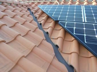 太陽光パネルの設置状況