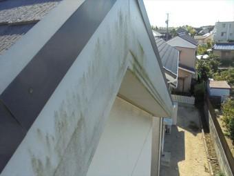破風板の汚れ