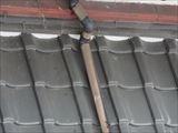 下屋根とはい樋
