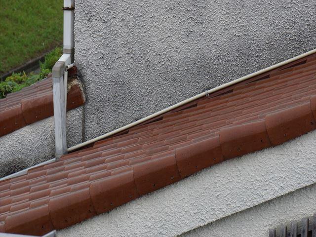 屋根の流れ