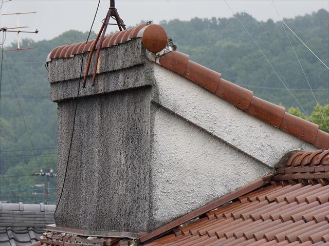 屋根のてっぺん