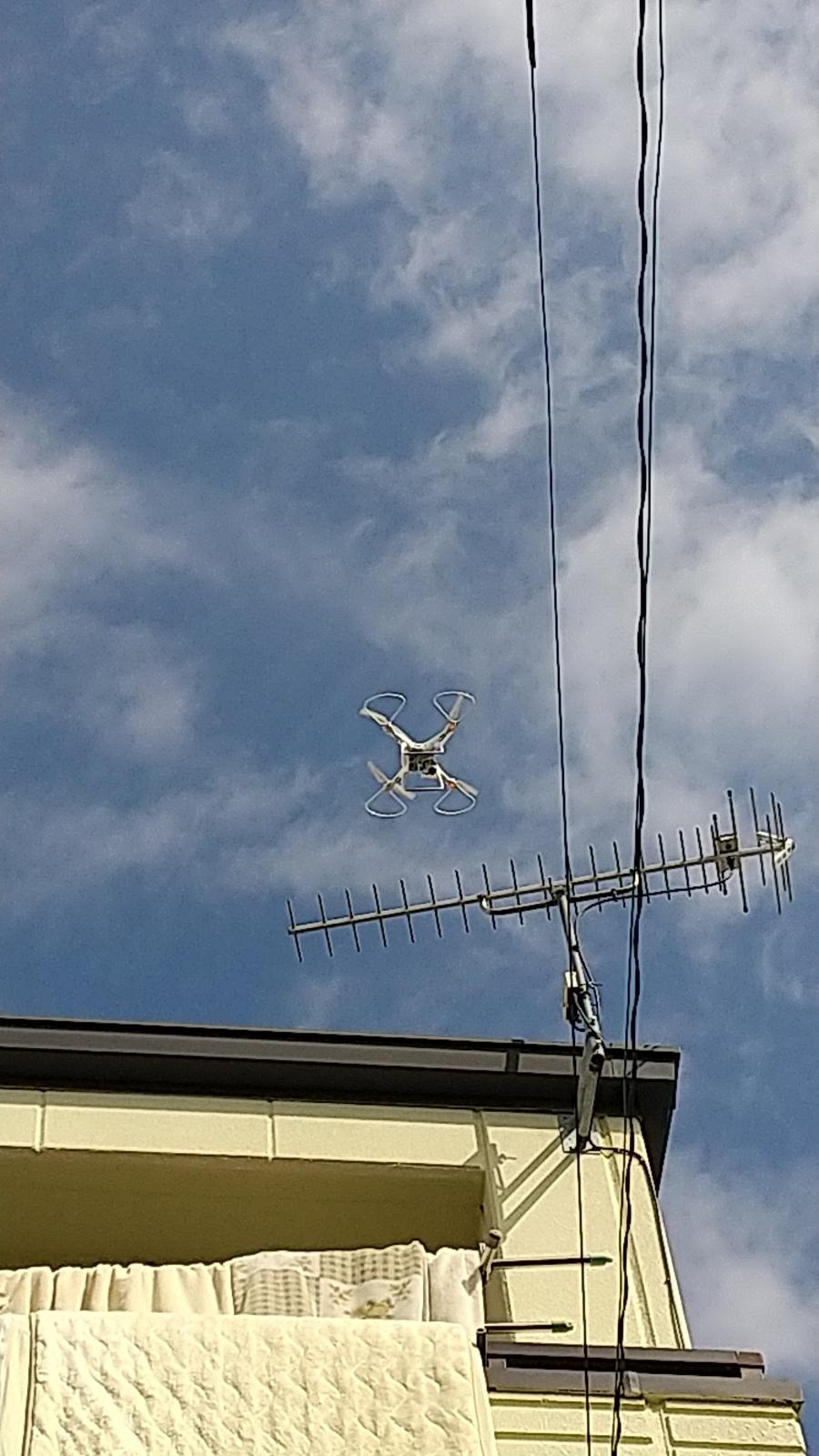 名古屋市東区にてカバー工事後の屋根点検