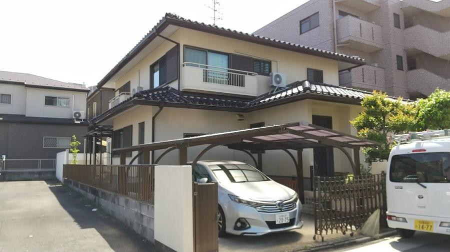 名古屋市中村区にて瓦屋根の点検依頼がありお伺いしました