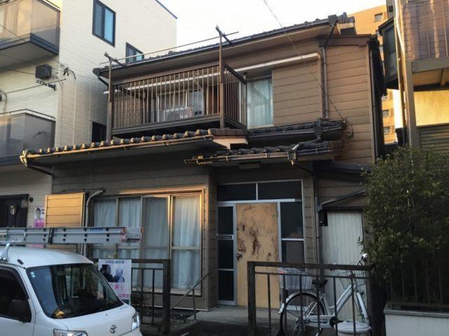 名古屋市南区にてセキスイU瓦の著しい劣化に依る葺き替え依頼