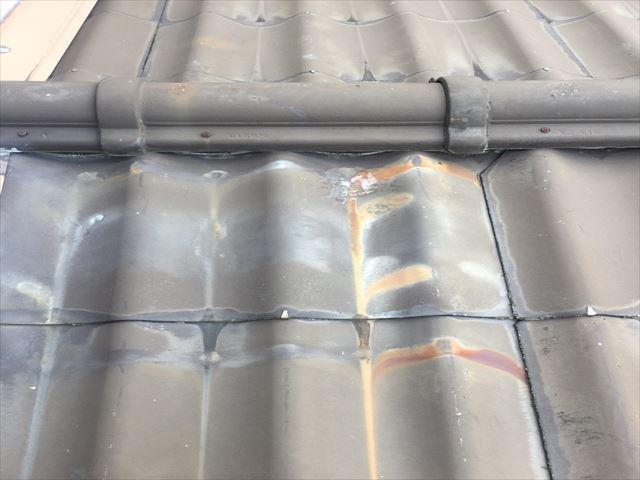 下屋根の状態