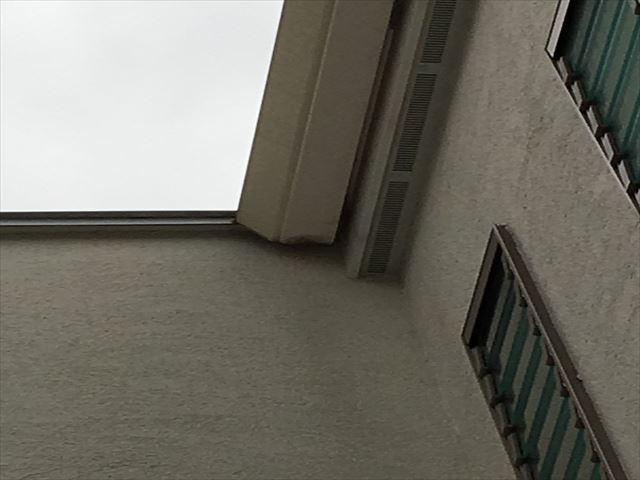 雨樋の全景