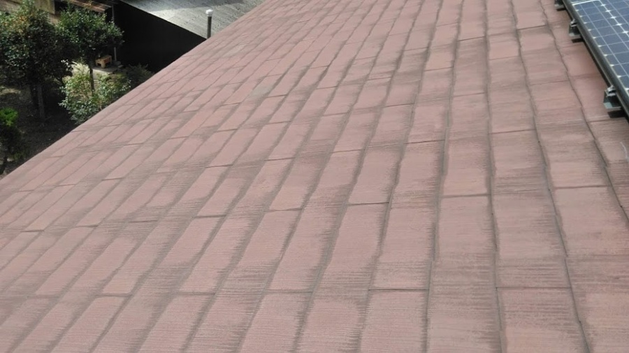 名古屋市中川区にてスレート屋根の点検にお伺いしました