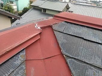 台風で飛んだトップライト