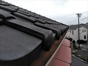 漆喰、庇板金、雨樋交換
