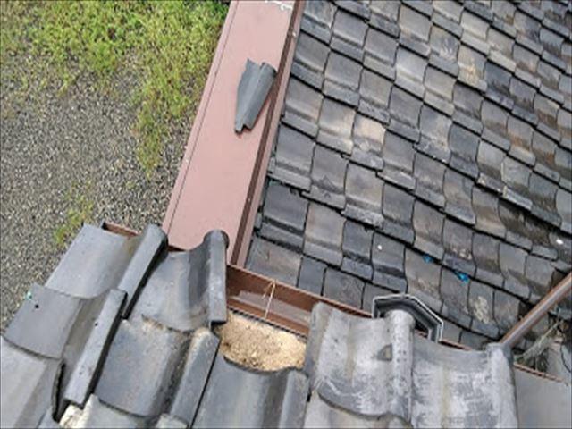 60年の瓦屋根点検