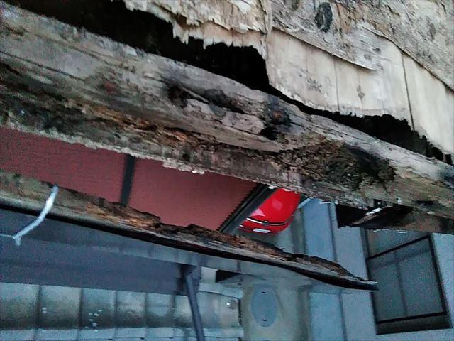 増築部の屋根改修