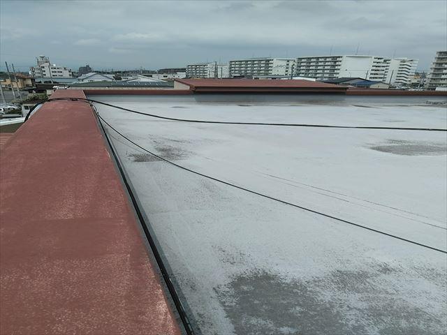 別棟の陸屋根