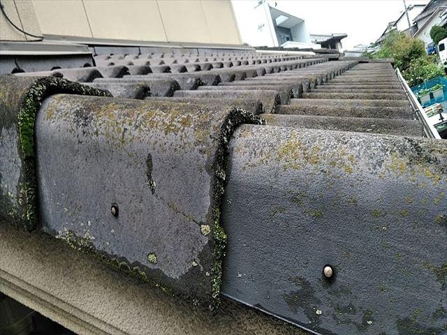 セメント瓦の葺き替え