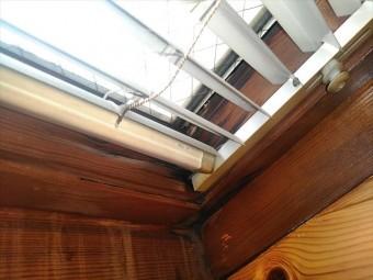 天窓の室内側の状況