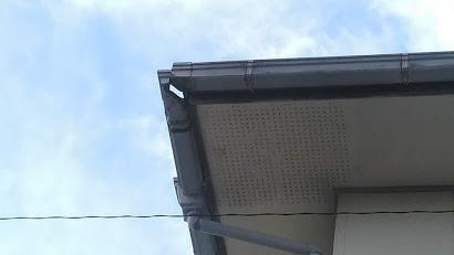 スレート台風被害