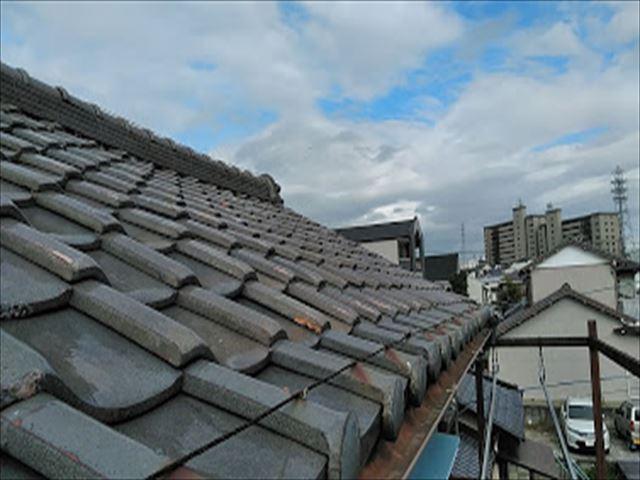 築40年瓦屋根