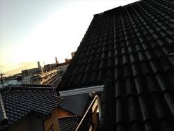 屋根外壁塗装、棟板金補修施工前