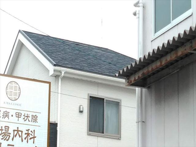 名古屋市南区のアスファルトシングル点検 屋根葺き替えか補修か