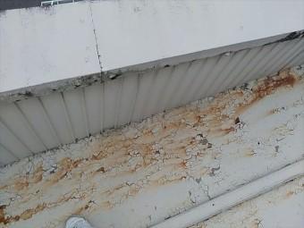 立平葺きのカバー工事
