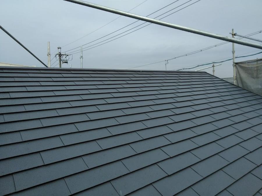 ガルテクト屋根完工