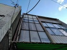 ビルの屋根瓦の点検
