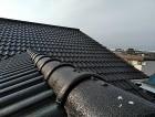 屋根外壁塗装、棟板金補修施工後