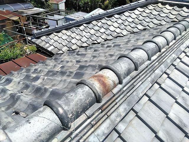 名古屋市緑区にて別荘の屋根瓦の点検依頼を頂く事になりました