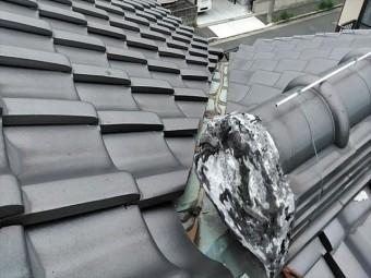瓦屋根の点検写真
