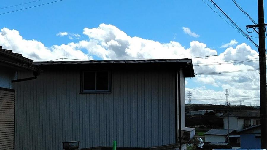 屋根カバー工事完工