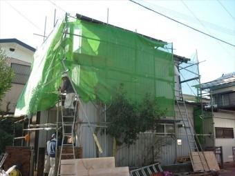 トタン屋根工事