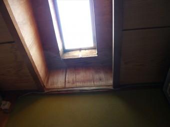 天窓の雨漏り