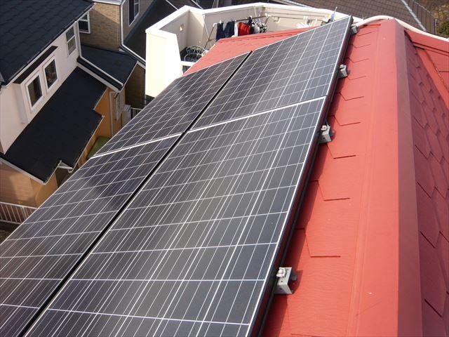 太陽光パネル設置面